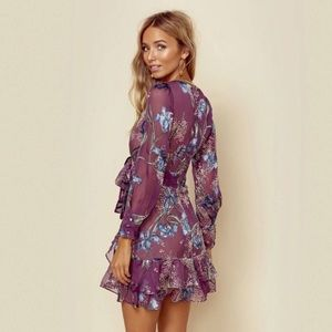 5a418cbdaba NWT For Love & Lemons Cleo Floral Party Dress, M NWT